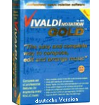 Vivaldi Gold Notensatz-Software für Komponisten